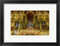 Framed Church Interior