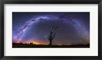 Framed Milky Way
