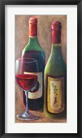 Framed Behrent Wines