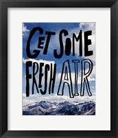 Framed Fresh Air