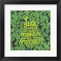 Framed Luck Seneca