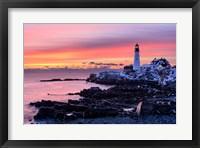 Framed Light of Dawn