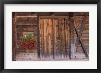 Framed Rustic Charm