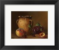 Fruit and Pot Framed Print