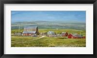 Framed Cypress Hills Farm