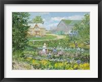 Framed St. Jacobs Garden