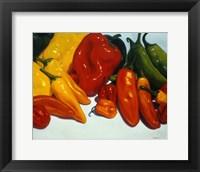 Framed All Kinds of Peppers