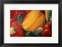 Framed More Peppers