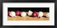 Framed Parade of Onions