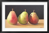 Framed Pear Procession