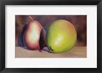 Framed Quite a Pear