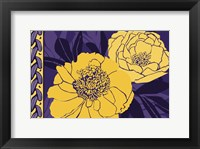 Framed Color Bouquet I