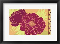 Framed Color Bouquet III
