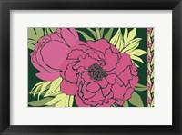 Framed Color Bouquet IV