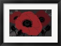 Framed Beautes Rouges II