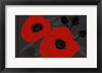 Framed Beautes Rouges IV