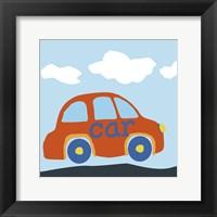 Car Baba Framed Print