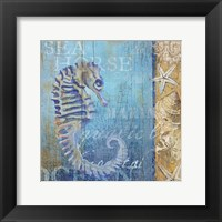 Framed Sea Horse and Sea