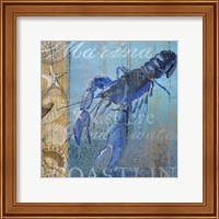 Framed Lobster and Sea