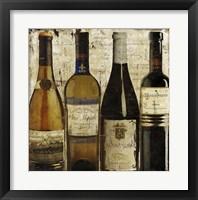 Wine Samples of Europe II Framed Print