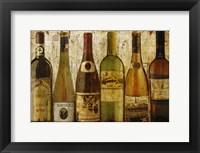 Framed Wine Samples of Europe III
