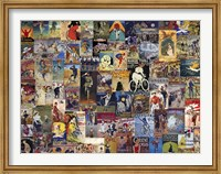Framed World Bicycle Tour Collage