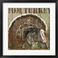 Framed Open Season Turkey