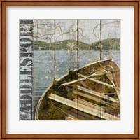 Framed Open Season Row Boat