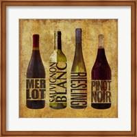 Framed Wine Up 1
