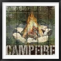 Framed Open Season Campfire