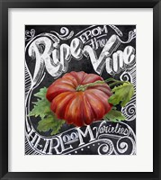 Framed Chalkboard Tomato