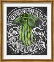 Framed Chalkboard Green Beans