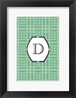 Framed Initials Pattern D