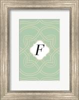 Framed Initials Pattern F