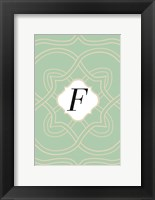 Framed Initials Pattern F