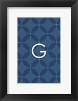 Framed Initials Pattern G