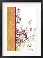 Framed Autumn Impasto