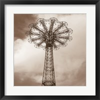 Framed Parachute Jump