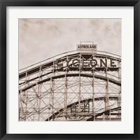 Cyclone Framed Print