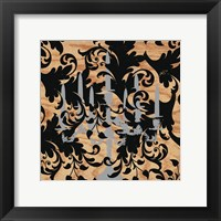 Rococo Luster Framed Print