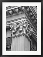Corinthian Column I Framed Print