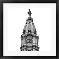 Framed City Hall Spire I