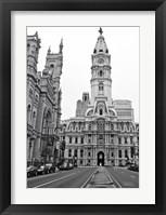 Framed Philadelphia City Hall