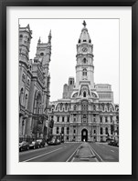 Framed Philadelphia City Hall