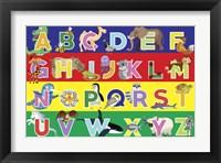 Framed Alphabet Puzzle