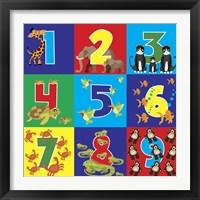 Framed Number Puzzle
