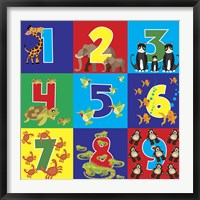 Framed Number Puzzle