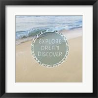 Beachsay 1 Framed Print