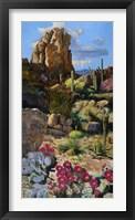 Framed Desert Oasis 1