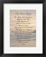 Framed Lord's Prayer - Sunset